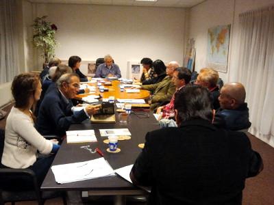 Stichting Indisch Erfgoed in vergadering (23 oktober 2012)