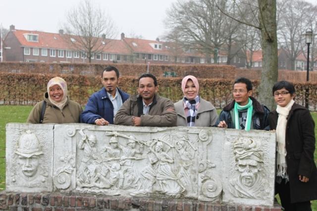 Aceh-delegatie op Landgoed Bronbeek