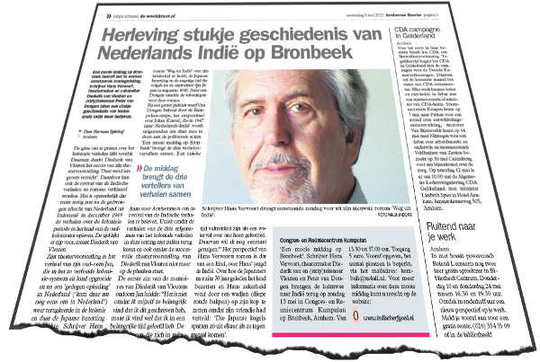 Weekkrant/Arnhemse Koerier woensdag 9 mei 2012