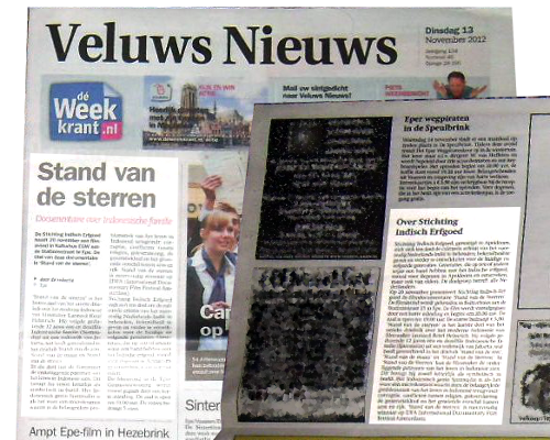 Weekkrant/Veluws Nieuws 12 november 2012