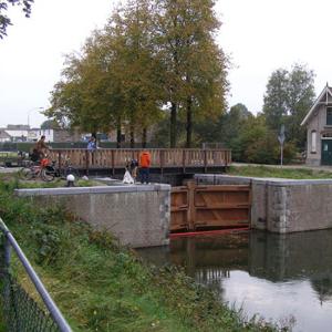 Het sluisje in Apeldoorn