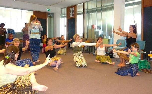 Workshop 'Kom en beleef Bali', 11 januari 2015