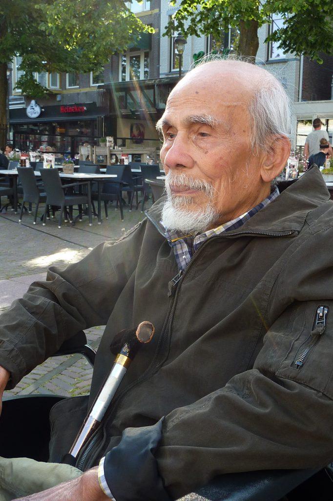 Sitor Situmorang (18-5-2014) Foto: Barbara Brouwer
