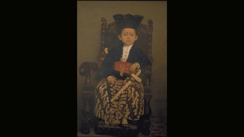 Jacob Taanman - Raden Mas Gusti Sayidin Malikul Kusna, de kroonprins van Surakarta