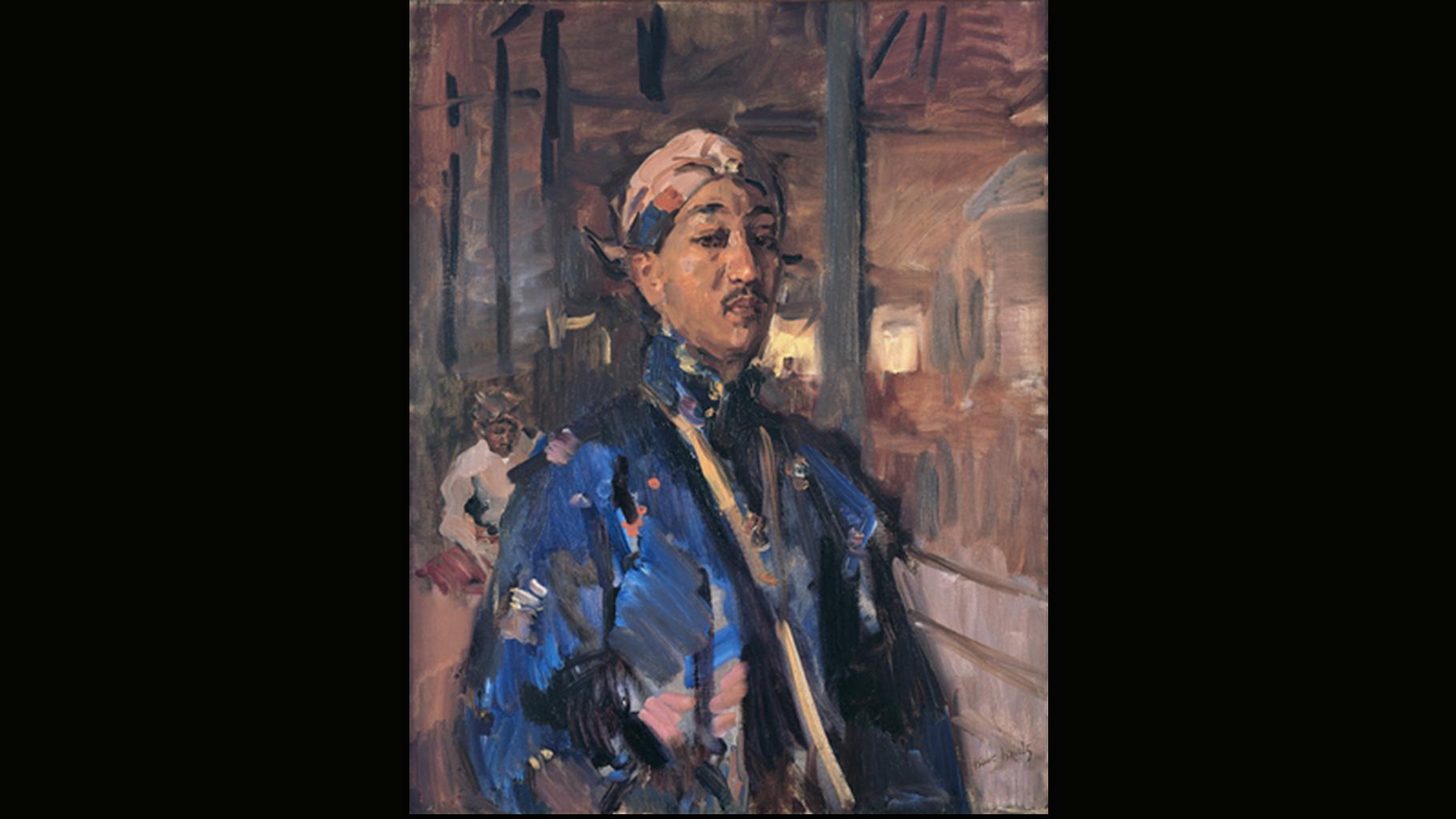 Isaac Israëls - Portret van de Javaanse prins, Mangkoenegara: Pangéran Adipati Ario Praboe Mangkoenegara VII