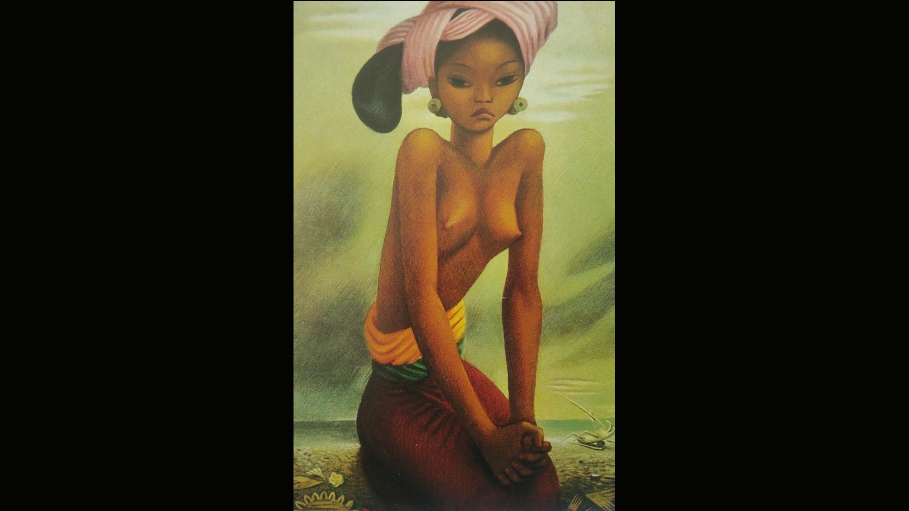Miguel Covarrubias - Mujer de Bali