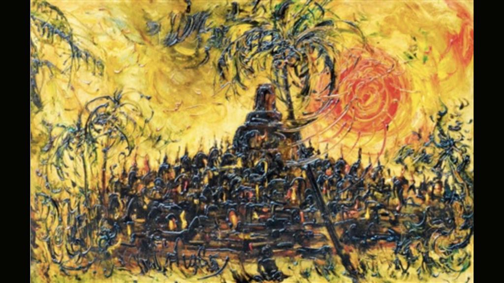 Kusama Affandi - Borobudur